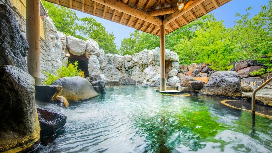 【大浴場「暁の湯」露天風呂】
