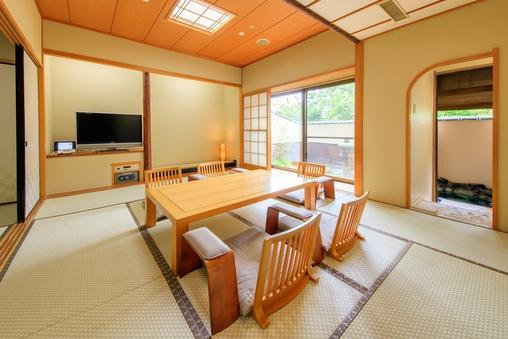 【禁煙】温泉露天風呂付き客室★和室(10畳+6畳)