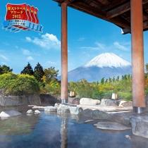 箱根随一の富士山を望む絶景露天!自家源泉の仙石原温泉!
