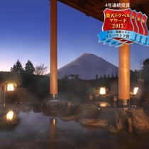 富士見露天風呂(夜景)