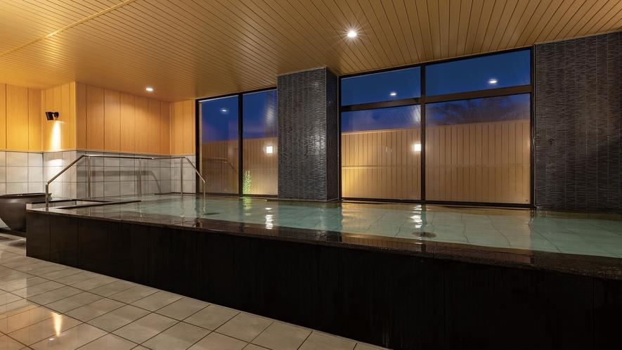 小湊実入温泉。大浴場は2019年にリニューアル。