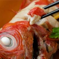 別注料理「金目鯛の煮つけ」※写真はイメージです