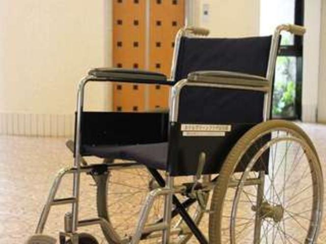 車椅子の貸し出しもございます。