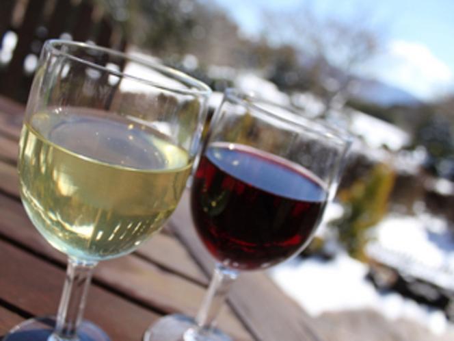 ワインのご用意もございます。(有料)