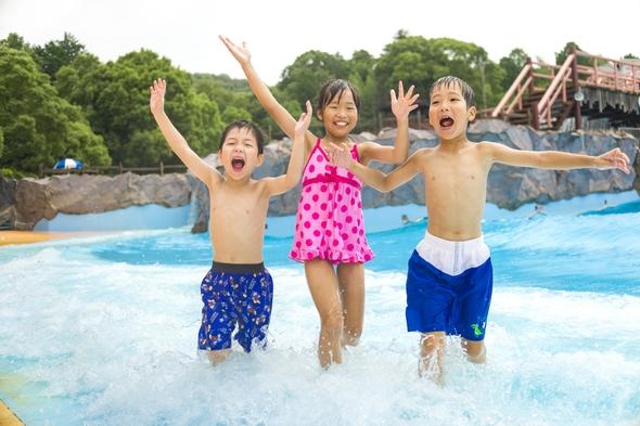 【夏のおもちゃ王国パック】2dayサマーフリーパス付き!プールやアトラクションをまるごと全部楽しもう