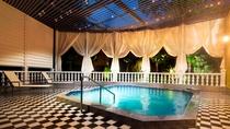 夜の湯プラザ温泉露天風呂