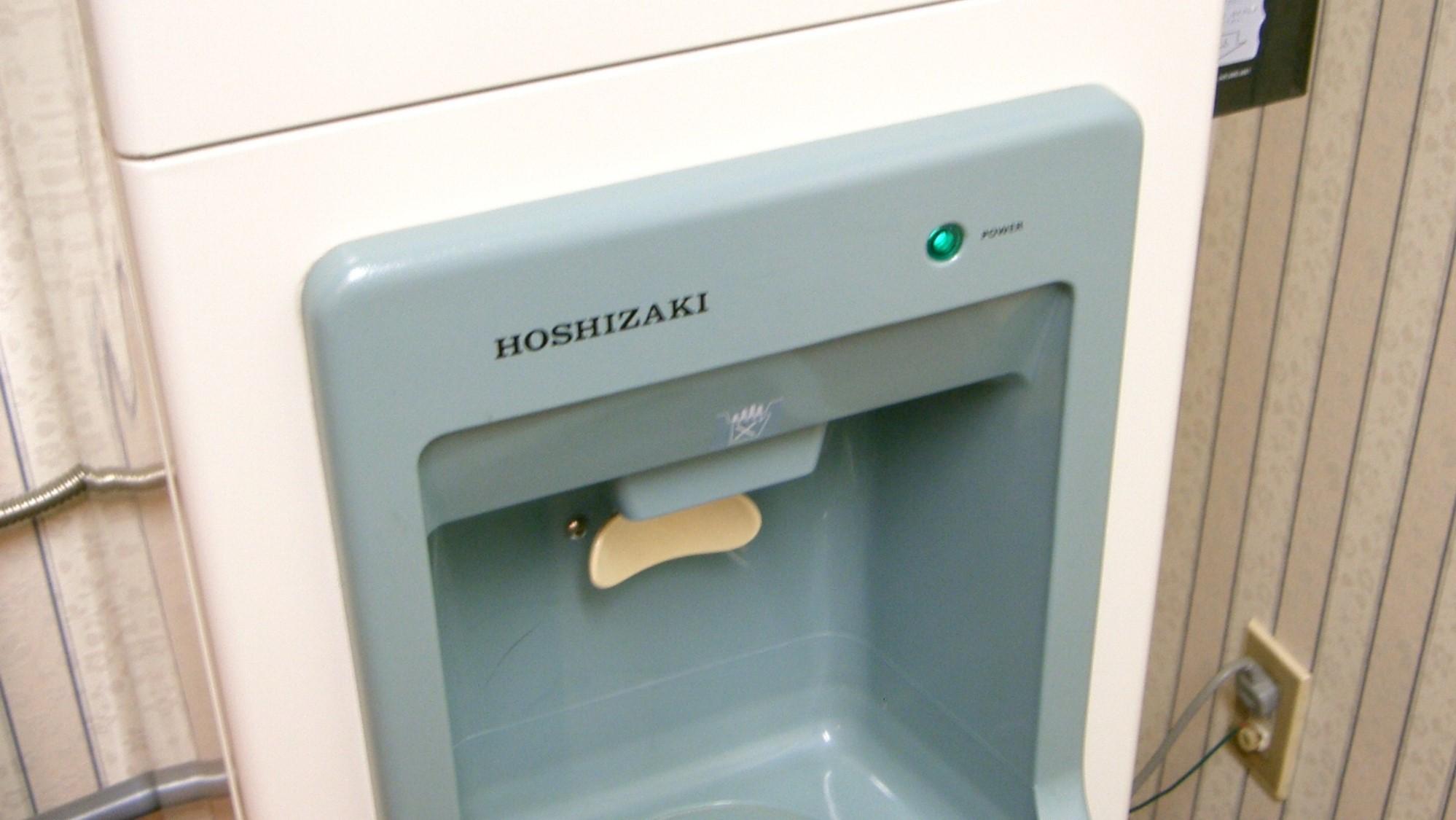 【製氷機】館内7階に設置しています