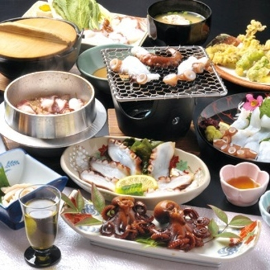 【当館人気 × 料理自慢】 ★下津井活たこコース★ 1泊2食