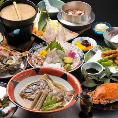 【ぷち贅沢 × 料理自慢】 ★下津井で獲れた旬の魚を味わう!下津井魚自慢★ 1泊2食