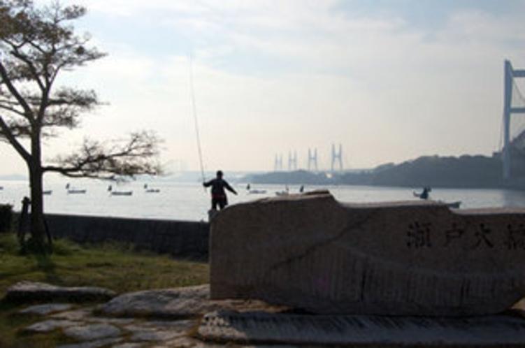 瀬戸内海での釣りもお楽しみいただけます。