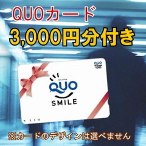 クオカード3,000円付き