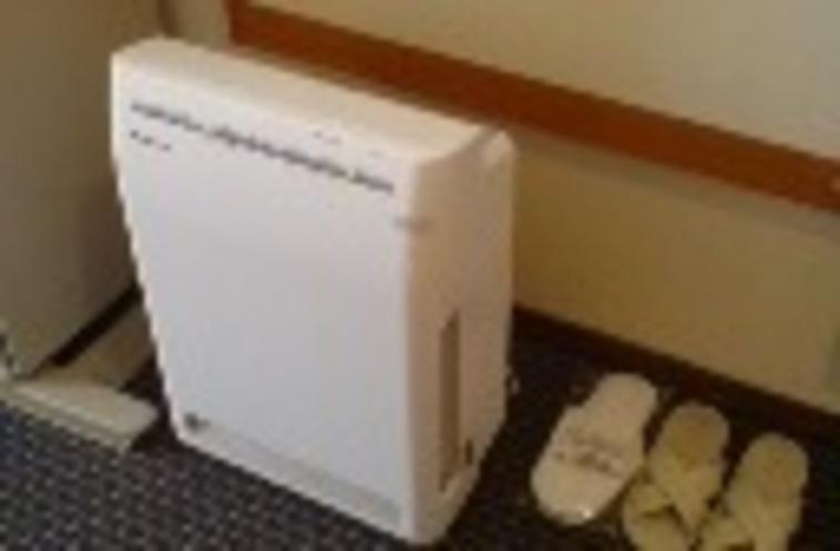 全客室空気清浄機付き