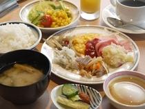 レストラン朝食一例