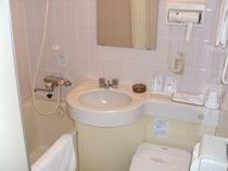 シングルの浴室