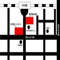 無料駐車場案内図