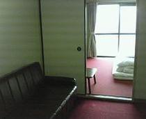 客室 和室6畳