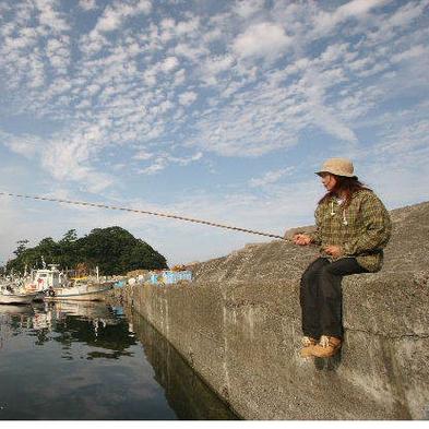 釣り好き集合☆ポイントまで案内特典付☆釣った魚が夕食に★潮風七福膳付[1泊2食付]