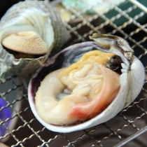 「さざえ・沖アサリ」貝類の焼き物