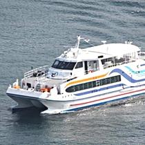 市営定期高速船「かがやき」