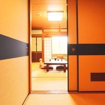 広縁&踏み込み付のお部屋で広々空間を感じられます!