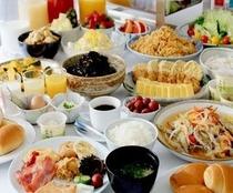 朝食バイキング 6:30〜10:00 L,O