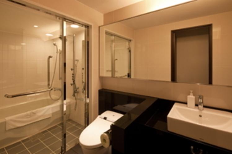 デラックスダブルルーム(浴室)