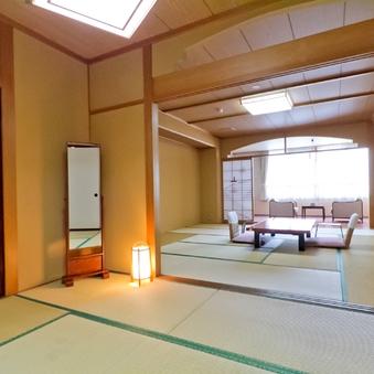 2の間付特別室(和室12.5+6畳・専用風呂/トイレあり)