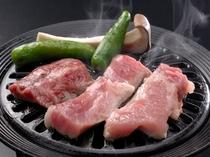 米沢牛&平牧三元豚の網焼