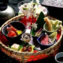 桜うきたむ弁当プランのお料理