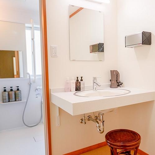 温泉付き和室8畳の内風呂