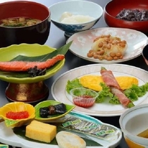 ご朝食(例)