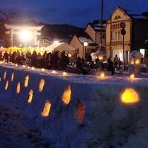 なんよう雪灯かり祭り(新町商店街)