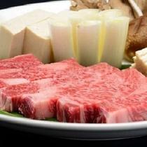 【赤湯すき】極厚素敵なすき焼プランの山形牛