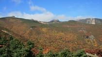 秋の安達太良山