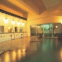【殿方大浴場『かもめの湯』】寺泊海岸温泉です。ナトリウム-炭酸水素塩・塩化物泉