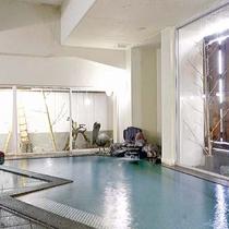 【大浴場】疲れた体を癒す寺泊温泉