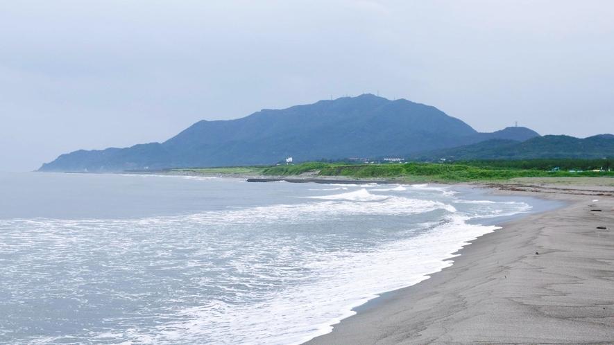 【寺泊の海】宿目の前は日本海!