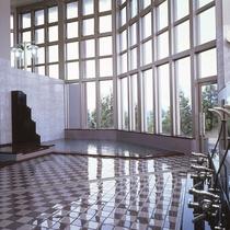 天井が高い大浴場(内風呂)