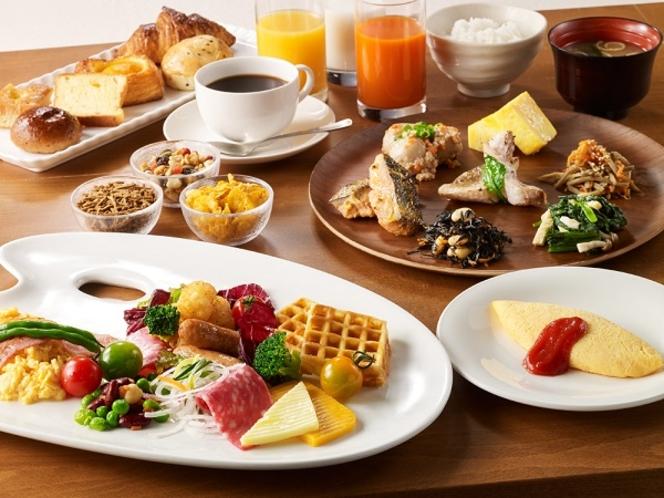 2019年朝ごはんフェスティバル埼玉県第1位受賞!種類豊富なブッフェ朝食