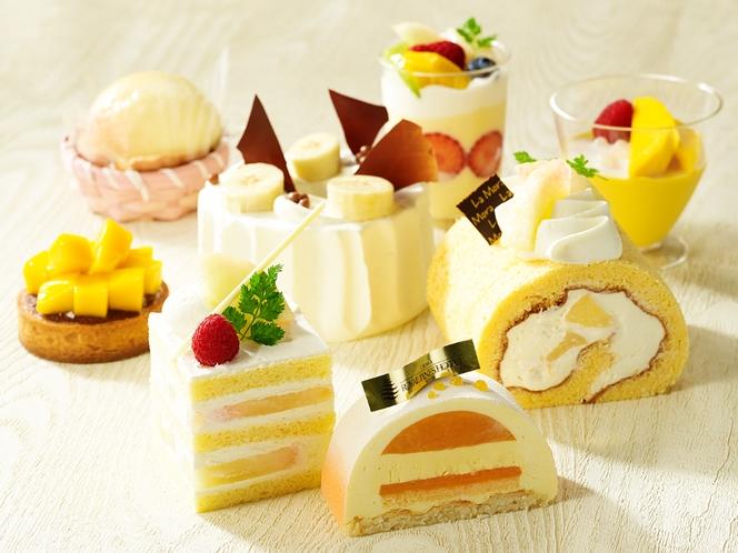 季節感あふれる上質な素材を使ったケーキ