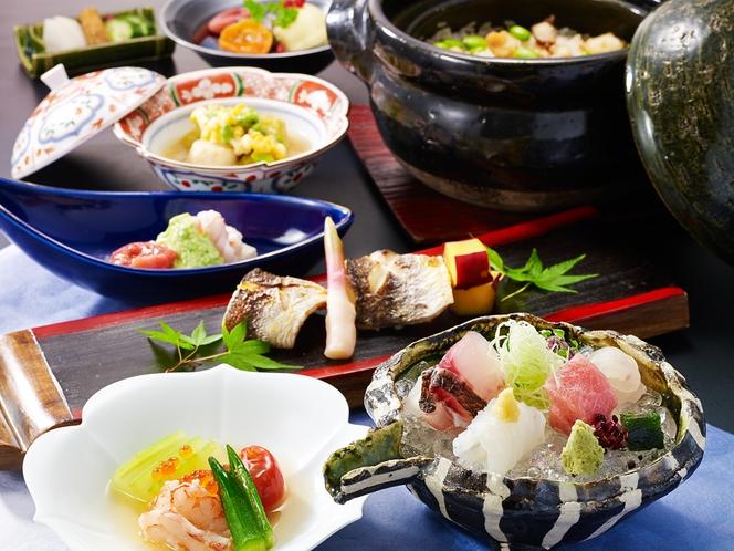 素材の持ち味を余すことなく引き出す日本料理
