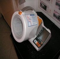 日頃の健康管理の為に血圧計をどうぞ
