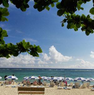 いにしえより姿を変えない天然のビーチ  ニライビーチ