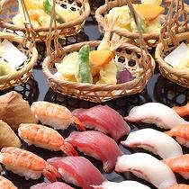 寿司・天ぷらカジュアルバイキング《カジュアルブッフェ ハナハナ/昼食》