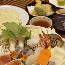 *ご夕食一例/冬期限定の海鮮寄せ鍋
