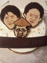 別注ケーキ例☆水曜どうでしょうデザイン