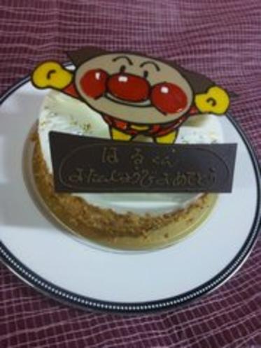 別注ケーキ例☆アンパンマンデザイン