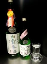 金賞受賞地酒☆白露垂珠はくろすいしゅ