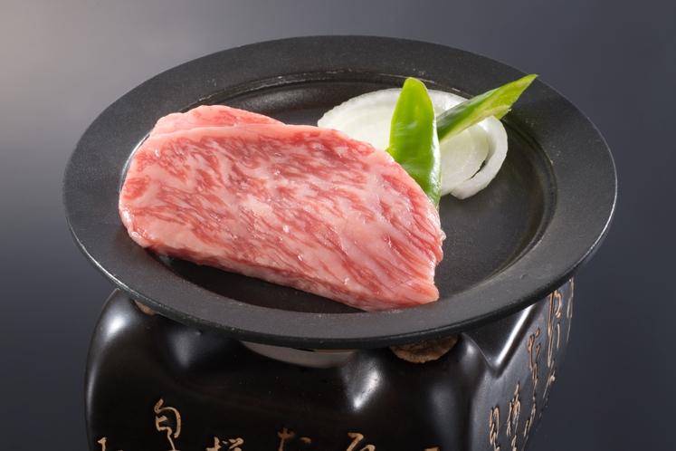松阪牛 陶板焼き