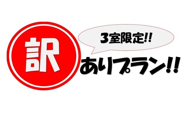 【3室限定!訳あり!】素泊まり◆全室禁煙◆天然白馬温泉